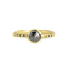 NEW! .70ct Round Black Diamond Chloe Setting Ring by Sarah Mcguire