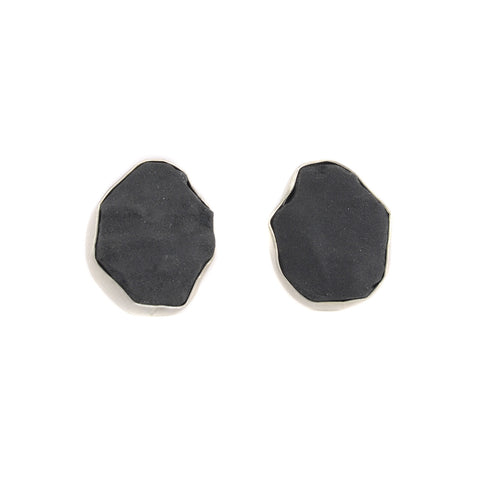 NEW! Black Fragment Earrings by Beverly Tadeu