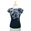 Black Vine T-Shirt by Umsteigen