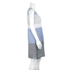 NEW! Blocked Shift Dress in Grey, Blue and White by Studio 412/Nuthatch