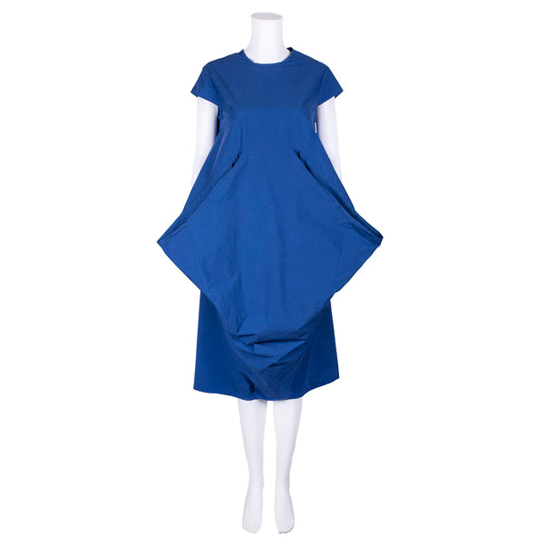 SALE! Blue Dress with Large Pockets by AMMA Kedem Sasson