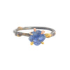 Small Pink or Blue Sapphire Rings by Variance Objects