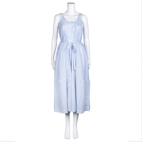 NEW! Blue Striped Dress by AMMA Kedem Sasson