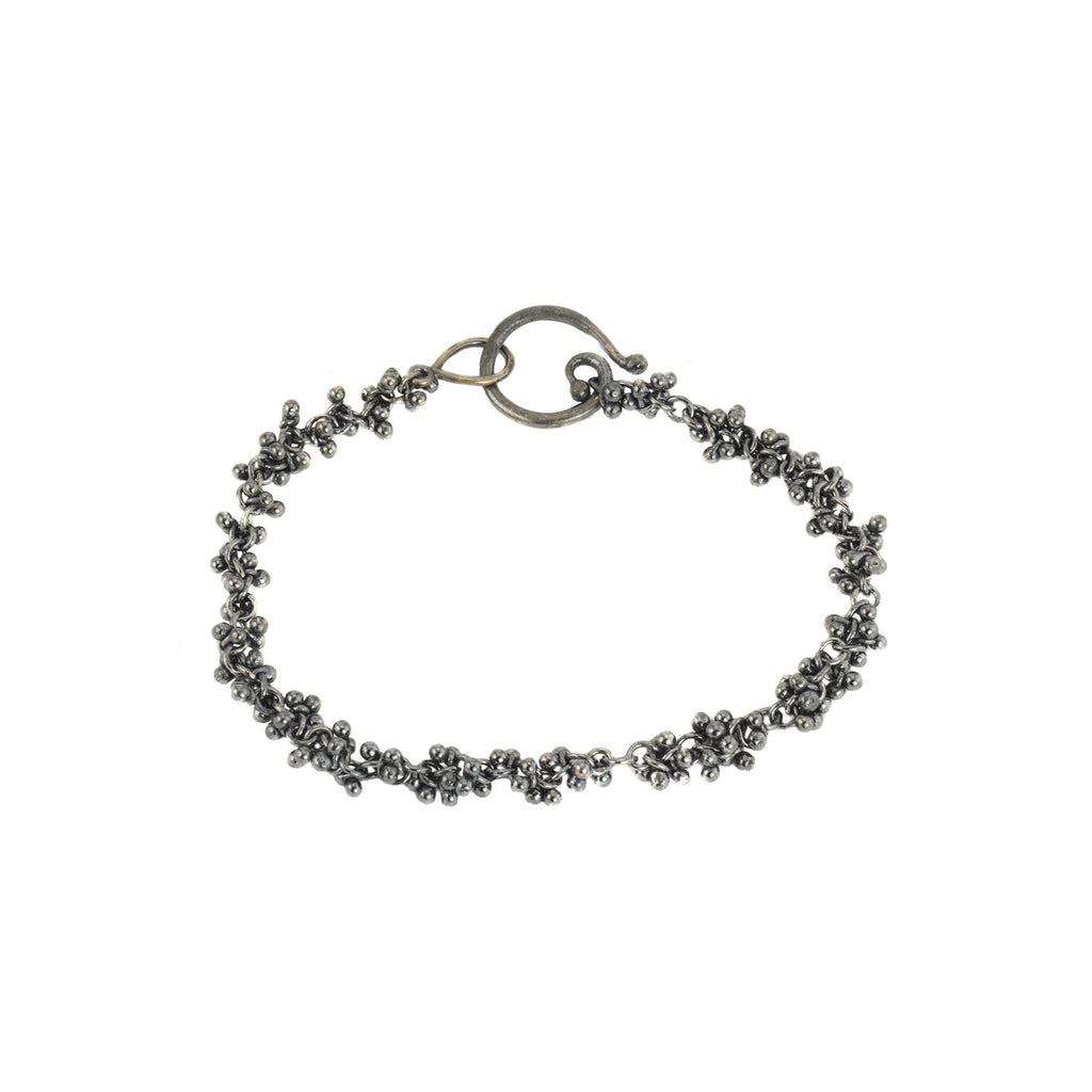 Caviar Granulation Chain Bracelet by Magally Lopez