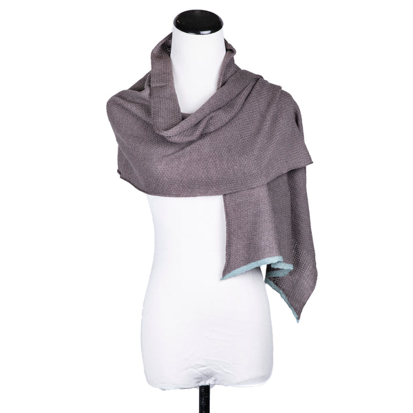 NEW! Textured Merino Scarf in Multiple Colors by Katie Mawson
