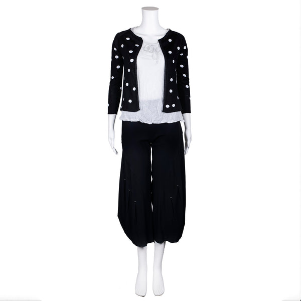NEW! Bubble Cardigan in Black by MJ Watson