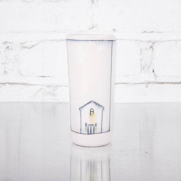 NEW! Bud Vase with Home by Nicole Aquillano