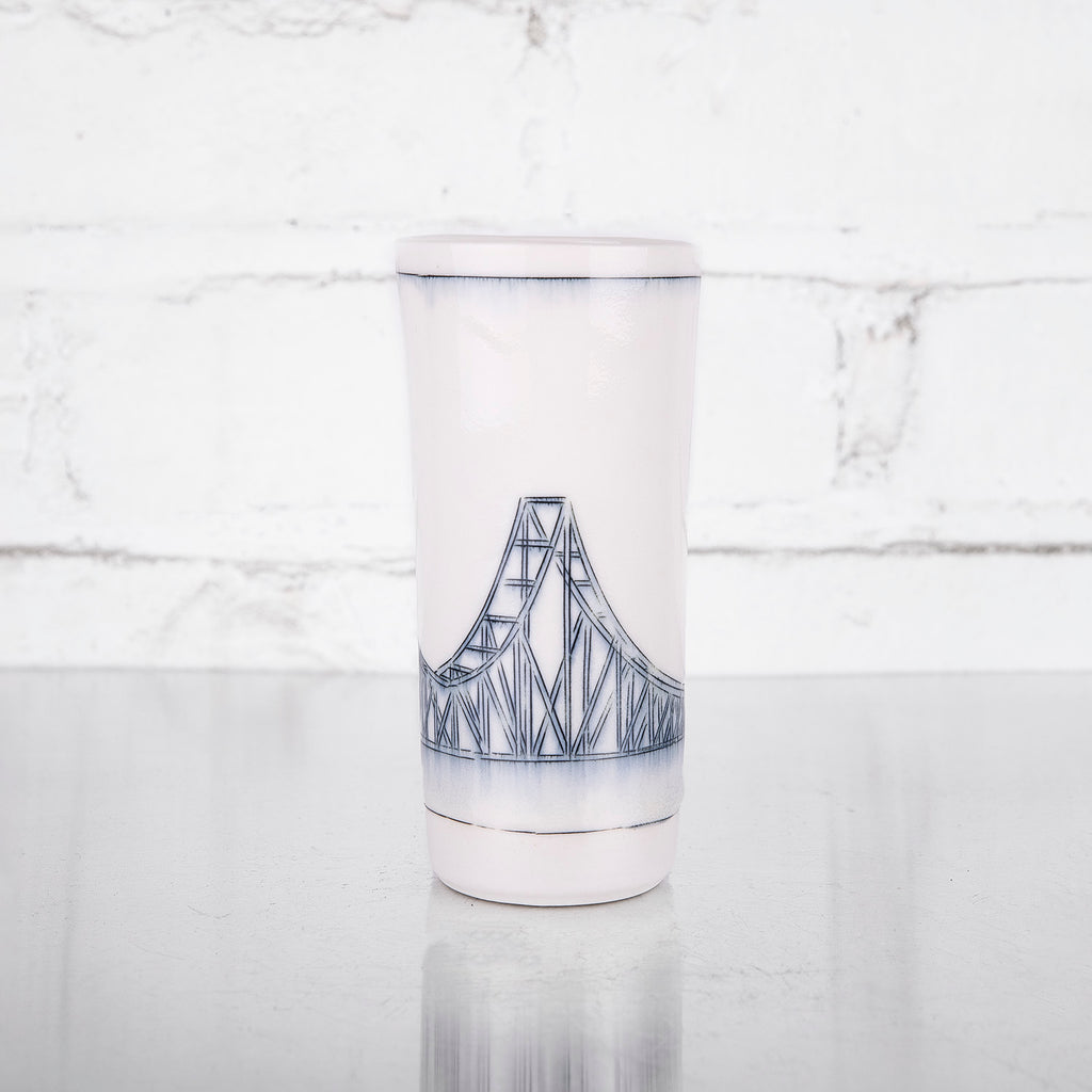 NEW! Bud Vase with Tobin Bridge by Nicole Aquillano