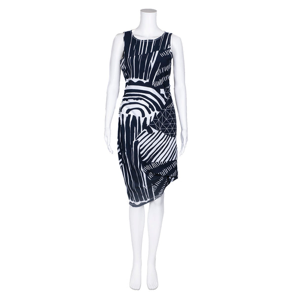 SALE! Carlyle Dress in Shadow Prism  by Porto