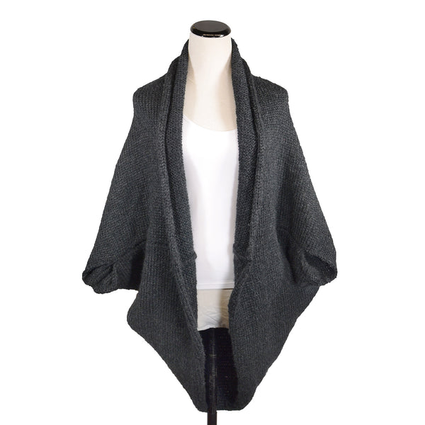 Jonesey Cardi in Charcoal by Isobel & Cleo