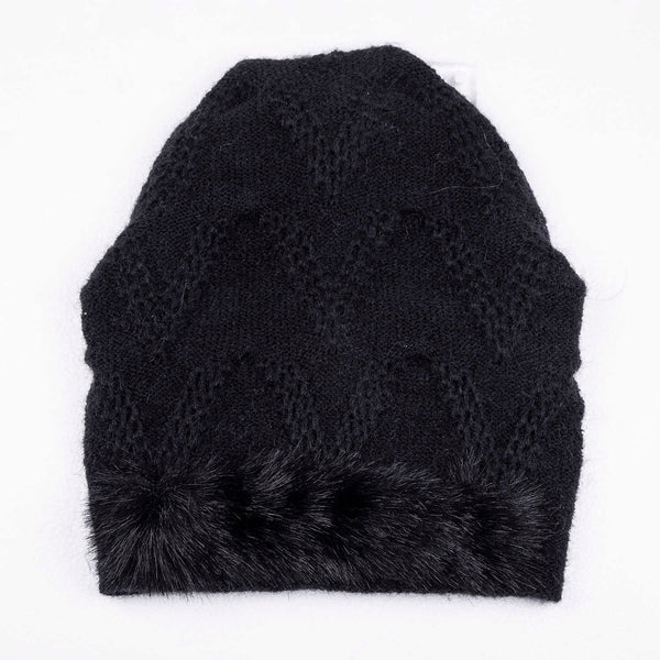 NEW! Chevron Fur Hat by Olena Zylak