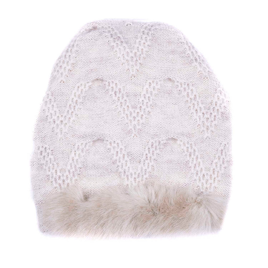 SALE! Chevron Fur Hat by Olena Zylak