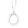 NEW! Mini Ruffle Circle Necklace in Sterling Silver by Thea Izzi
