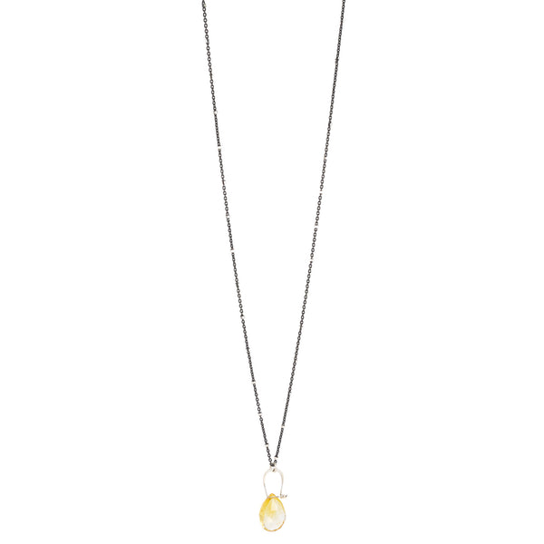 NEW! Stirrup Citrine Necklace by Serena Kojimoto