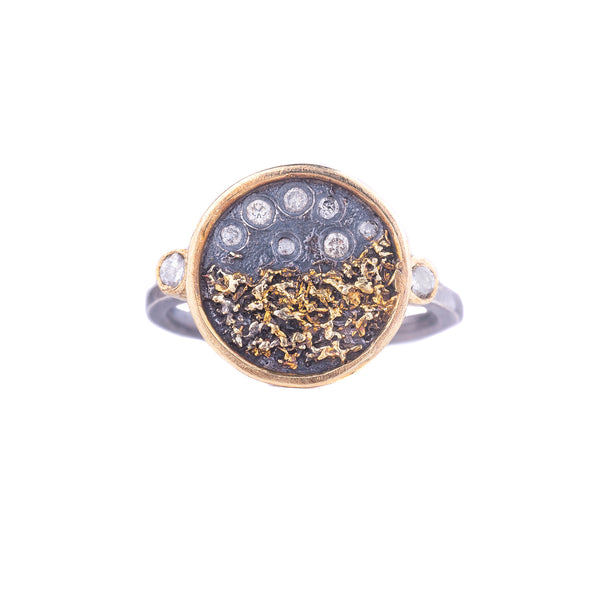 NEW! Traveler's Coin Ring by Kate Maller
