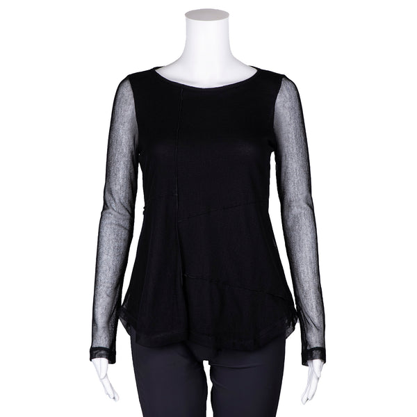 SALE! College Top in Black by Porto