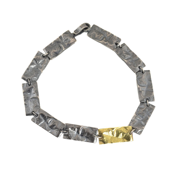 NEW! Reticulated Rectangle Linear Bracelet by Thea Izzi