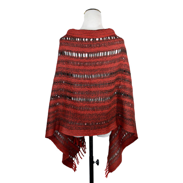 Cropped Poncho (in Multiple Colors) by Armstrong Textiles
