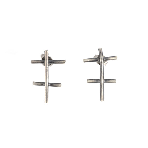NEW! Crosshatch Earrings by Devaney Bennett