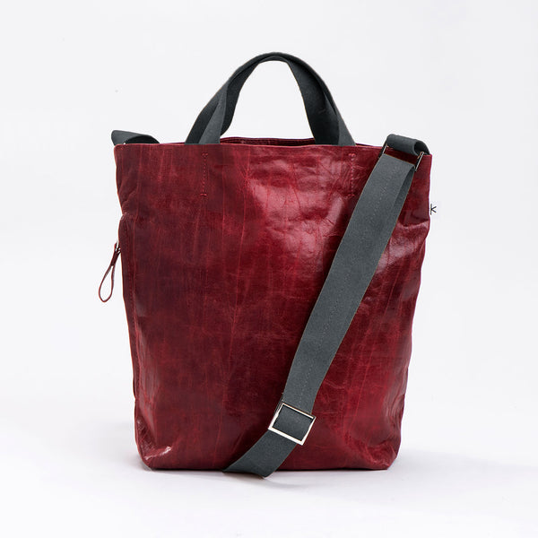 NEW! Dafna Fabric Cross Body Bag in Wine by Kisim
