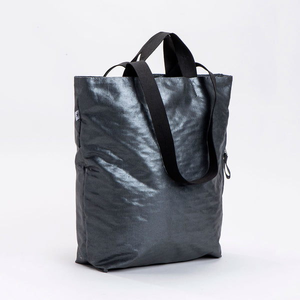 NEW! Dafna Fabric Tote Bag in Pewter by Kisim