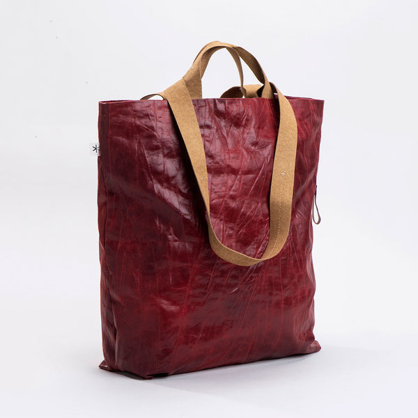 NEW! Dafna Fabric Tote Bag in Wine by Kisim