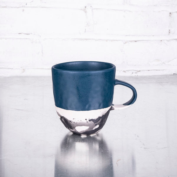 NEW! Splatter Mug in Daybreak or Deep Ocean by Elizabeth Benotti