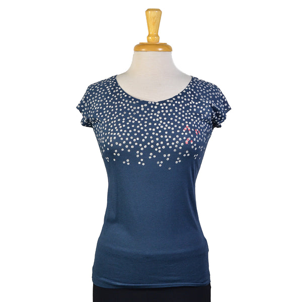 NEW! Denim Blossom T-Shirt by Umsteigen