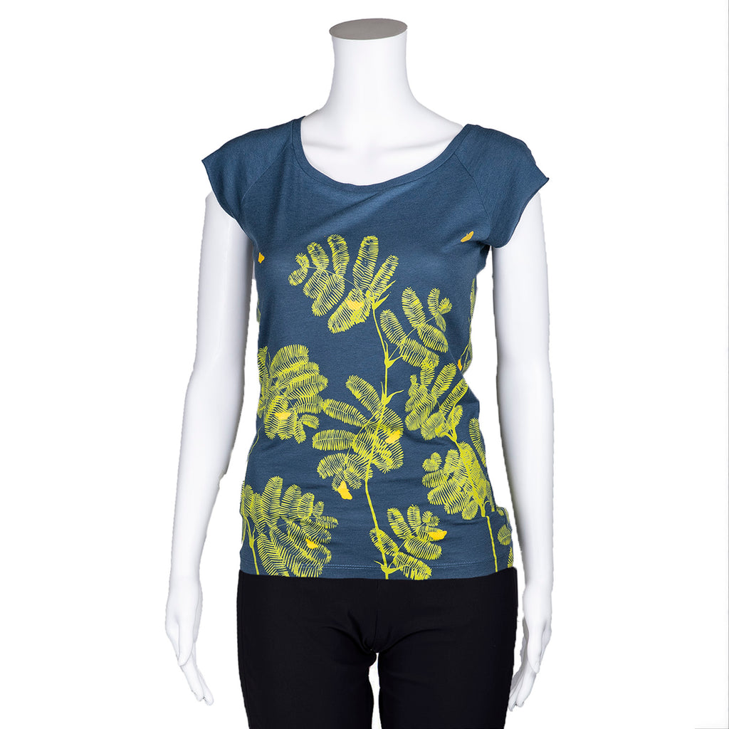 NEW! Denim Mimosa T-Shirt by Umsteigen