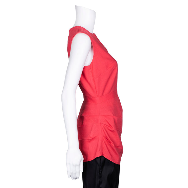SALE! Sleeveless Dresden Top in Salmon by Kim Schalk