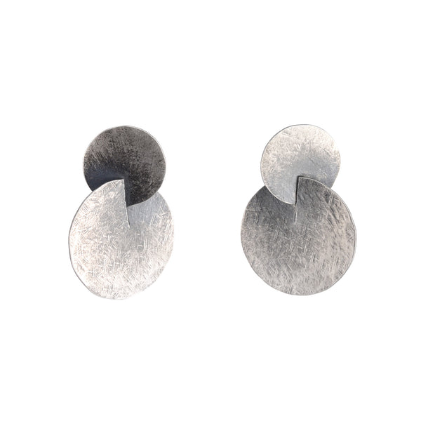 NEW! Double Disc Earrings by Devaney Bennett