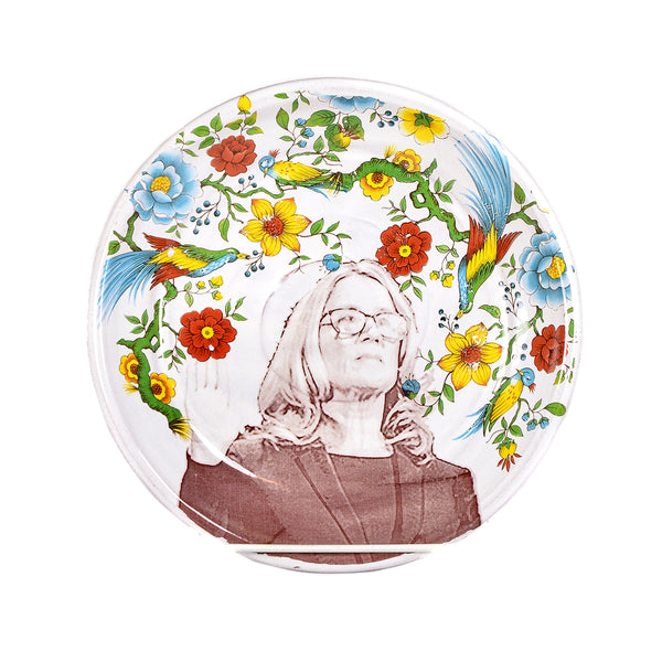 NEW! Dr. Christine Blasey Ford Plate by Justin Rothshank