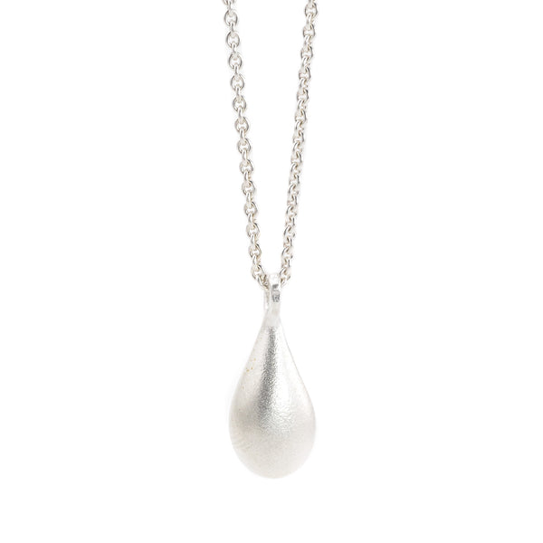 NEW! Silver Drip Pendant Necklace by EAM
