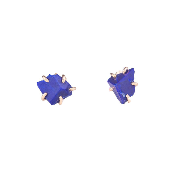 NEW! Small Lapis Stone Studs by Variance Objects