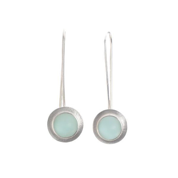 NEW! Seafoam Raindrop Earrings by Amy Faust