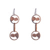 NEW! Abe Three Chain Drop Earrings by Stacey Lee Weber