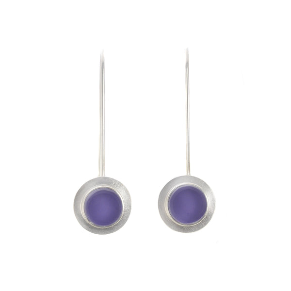 NEW! Purple Raindrop Earrings by Amy Faust
