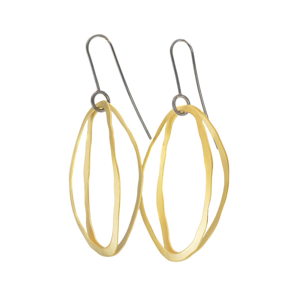 NEW! Double Arc RC Earrings by Lisa Crowder