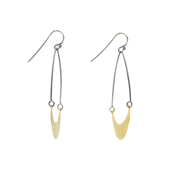 NEW! Single Arch Earrings by Lisa Crowder