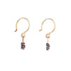 Pagoda Rock Drops Earrings by Sophie Hughes