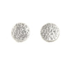 Bright Sterling Silver Textured Studs by Dushka