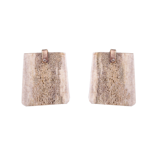 NEW! Antler Slice Earrings by Eric Silva