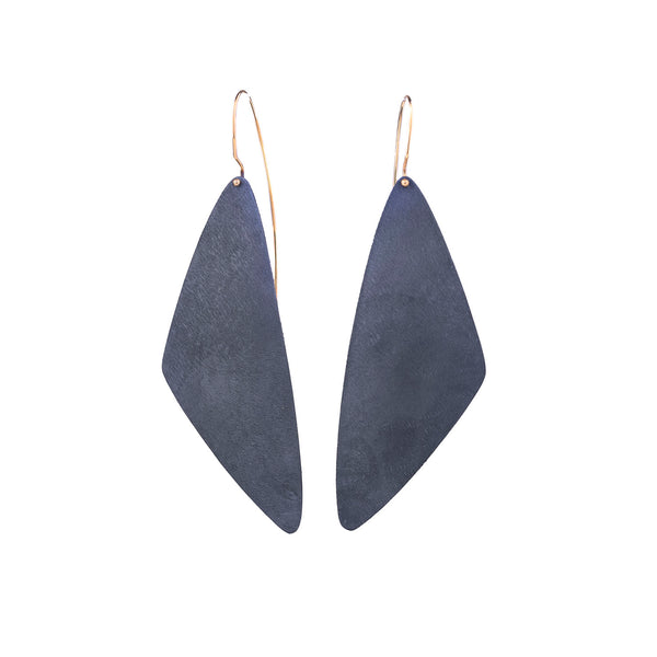 NEW! Crescent Drop Slice Earrings by Shaesby