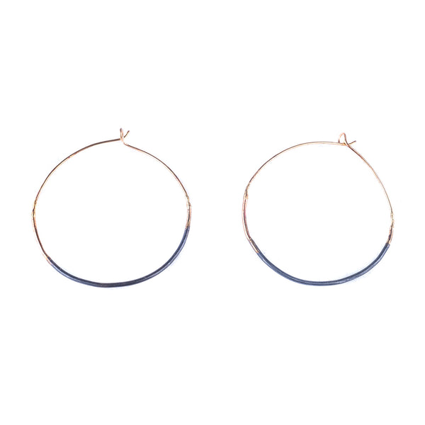 NEW! Ombre Small Hoops by Variance Objects