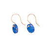NEW! Chilean Lapis Disc Earrings by Carla Caruso