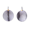 NEW! XLarge Hammered Disc Earrings by Lisa Crowder