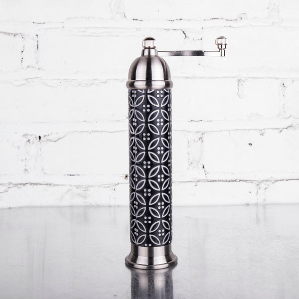 NEW! Embossed Crank Pepper Mill by Raw Design