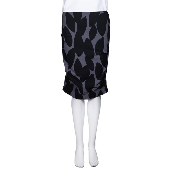 SALE! Equinox Skirt in Fumo Petal Print by Porto
