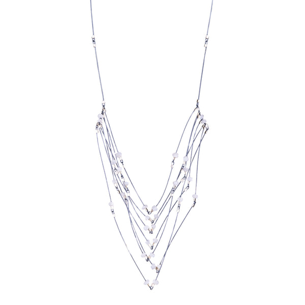 NEW! Faceted Necklace by Meghan Patrice Riley