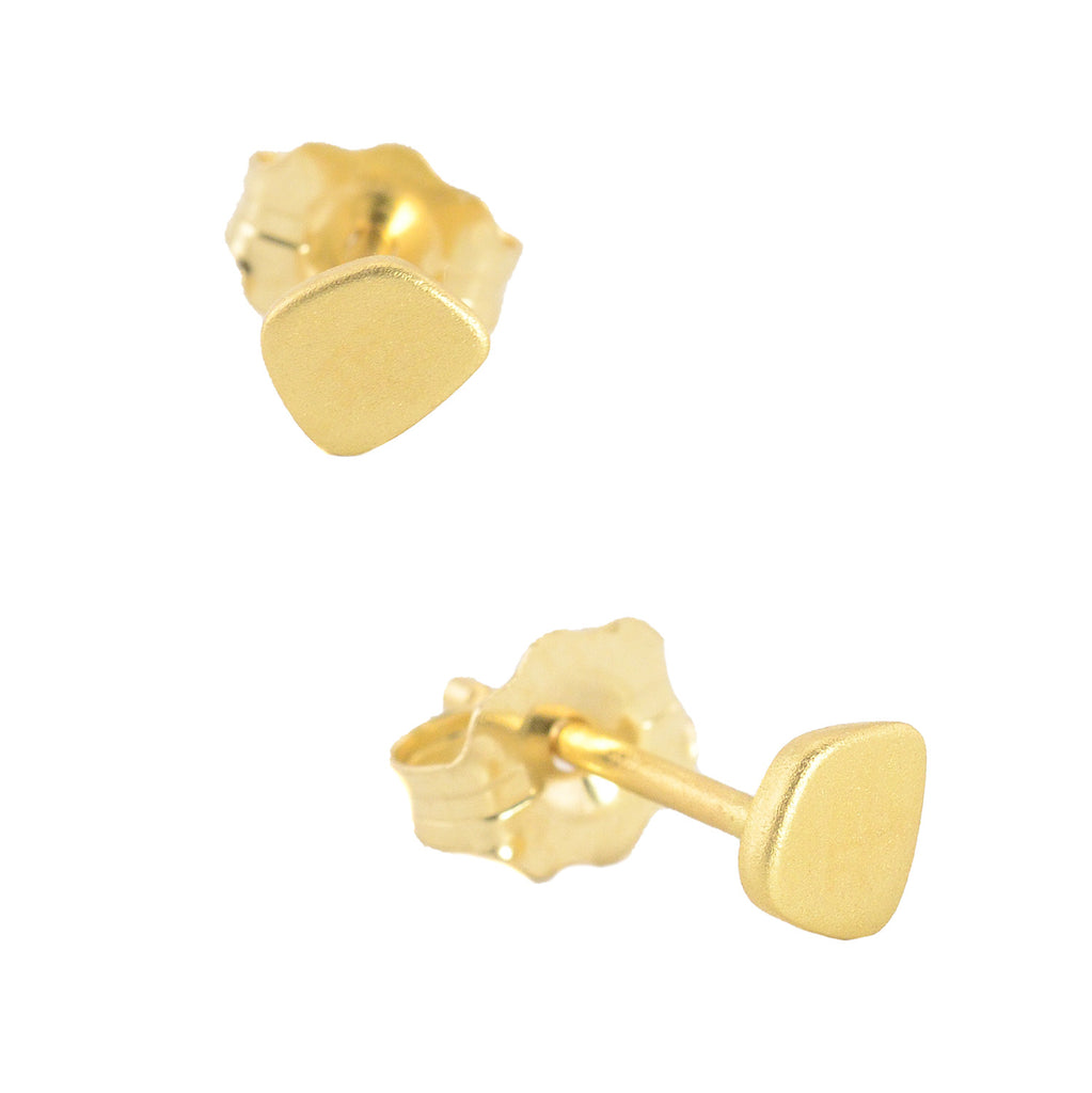 Single Totem Stud Earring in Multiple Shapes by Marion Cage